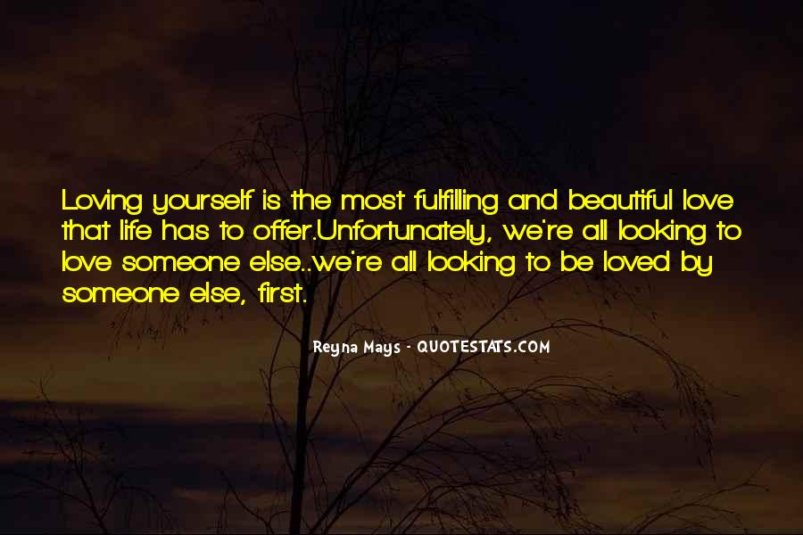 Love Yourself Love Life Quotes #122334