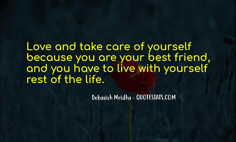 Love Yourself Love Life Quotes #171740