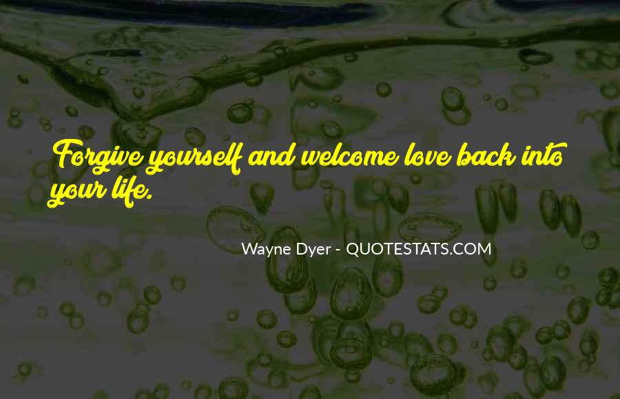 Love Yourself Love Life Quotes #70588