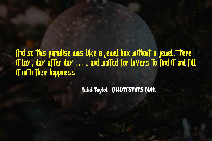 Lovers Paradise Quotes #415196