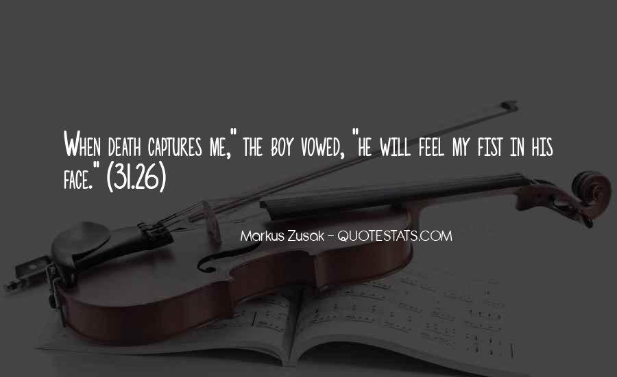 Quotes About Death In Book Thief #451859