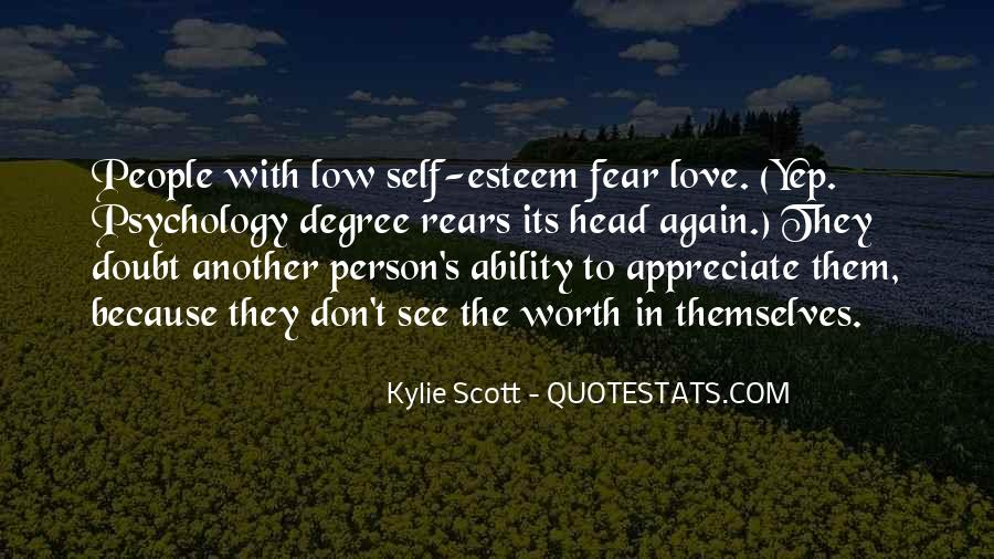 Low Self Esteem Love Quotes #448184