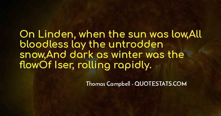 Low Winter Sun Quotes #1293230