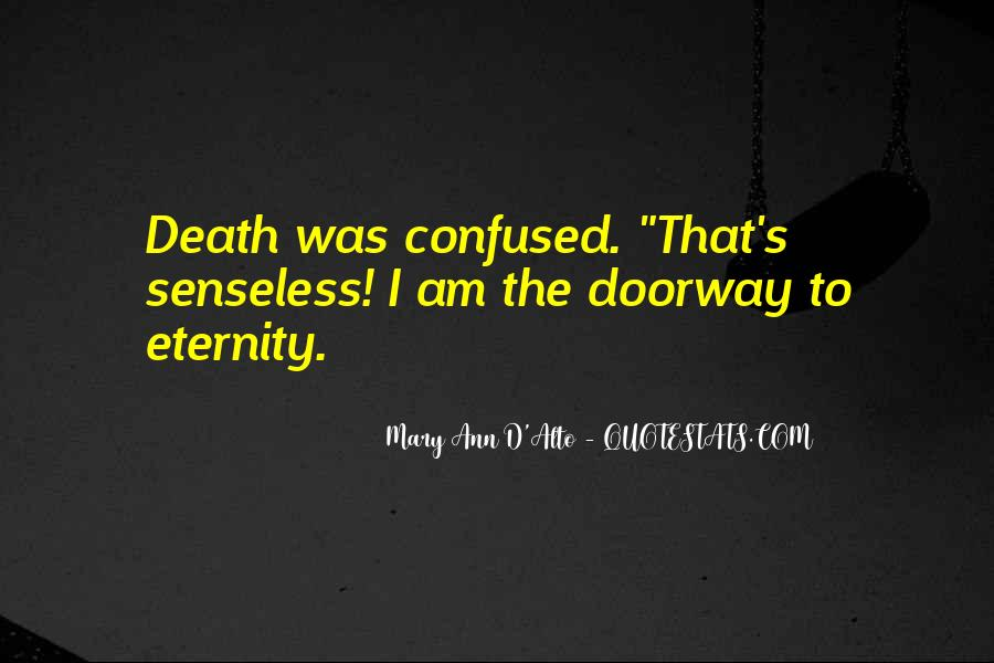 Quotes About Death From Novels #174031