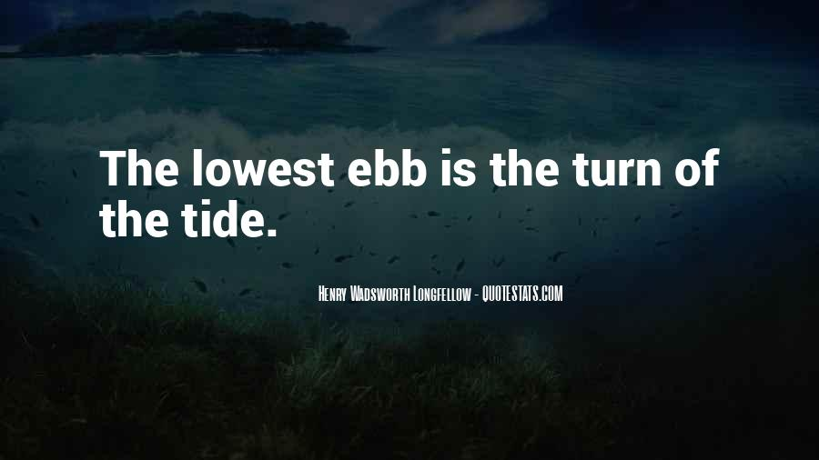 Lowest Ebb Quotes #242635