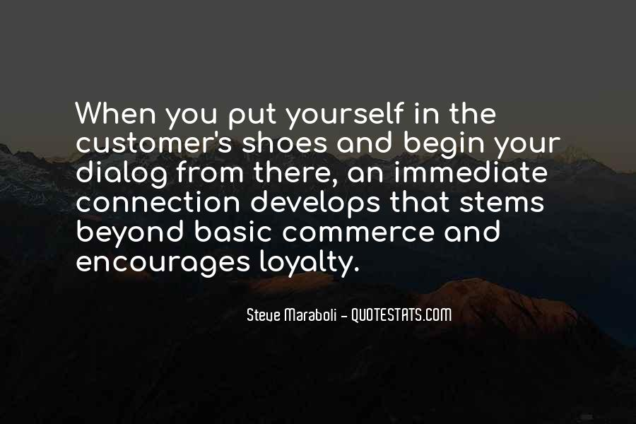 Loyalty And Business Quotes #1490508