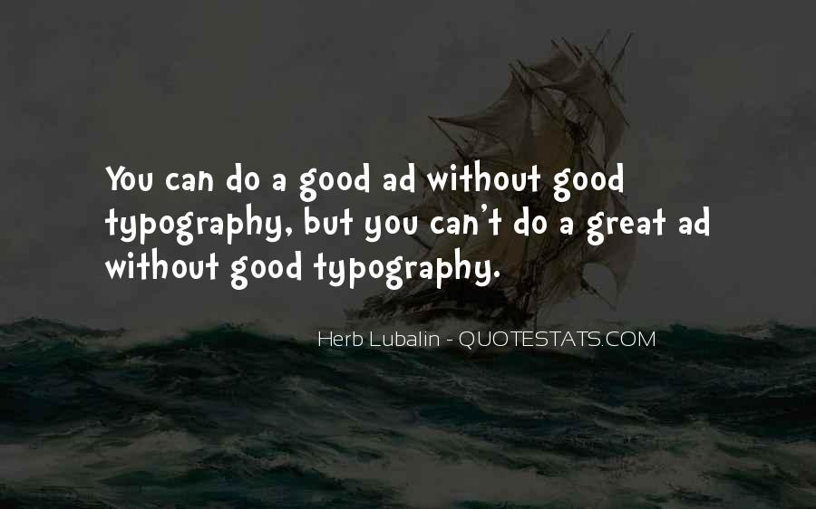 Lubalin Quotes #1486860