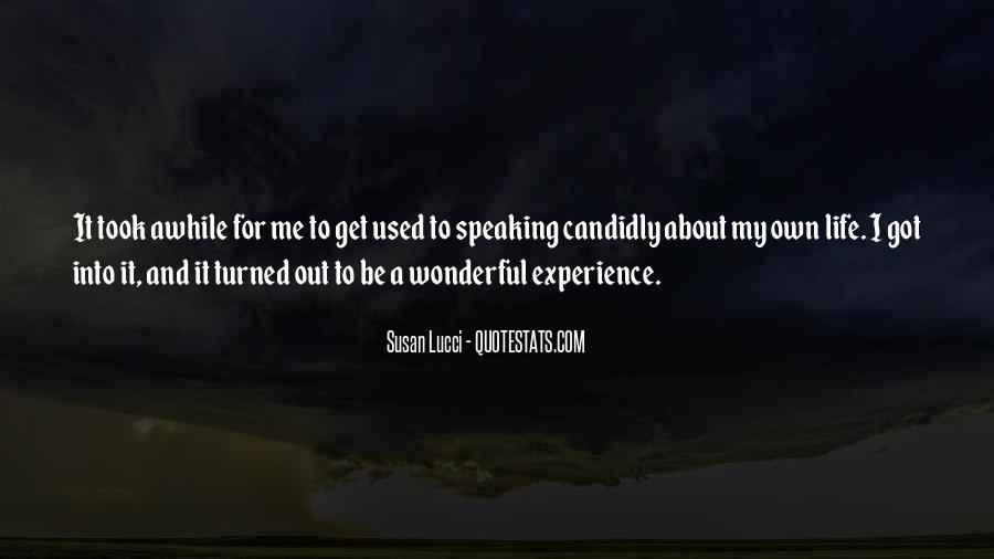 Lucci Quotes #988096