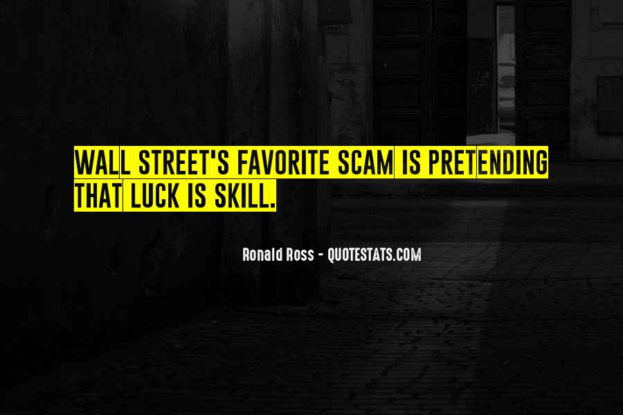 Luck And Skill Quotes #265170