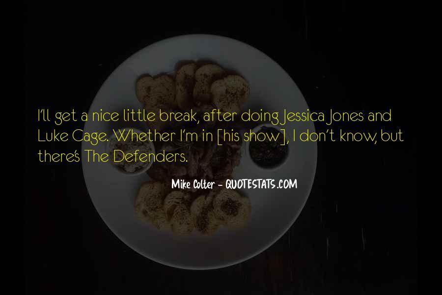 Luke Cage Quotes #1720623