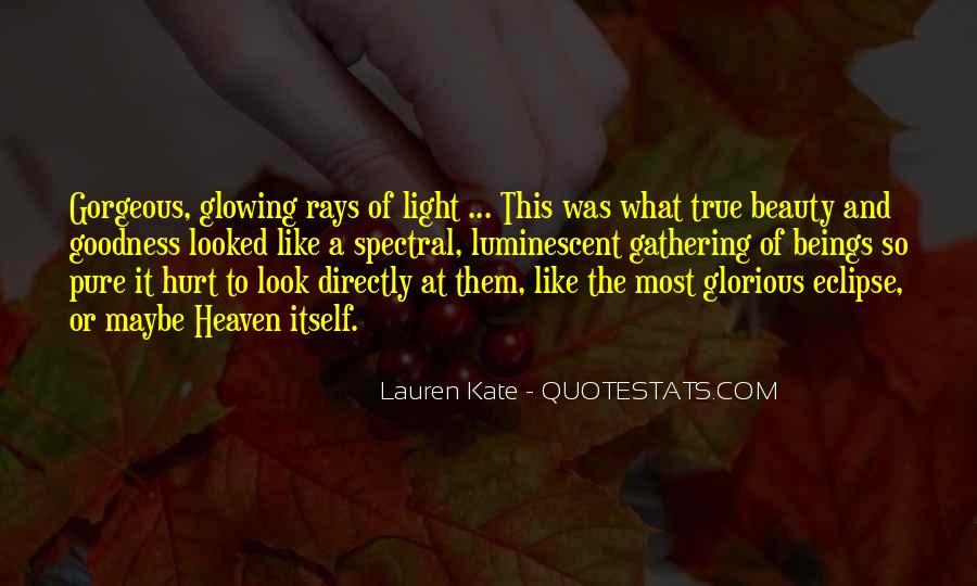 Luminescent Quotes #511125