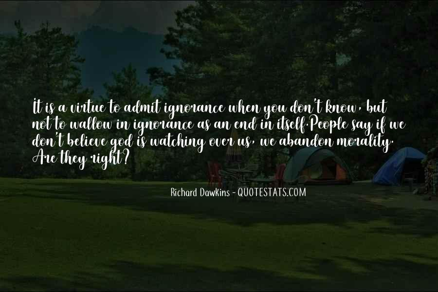 Quotes About Dawkins God #1015946