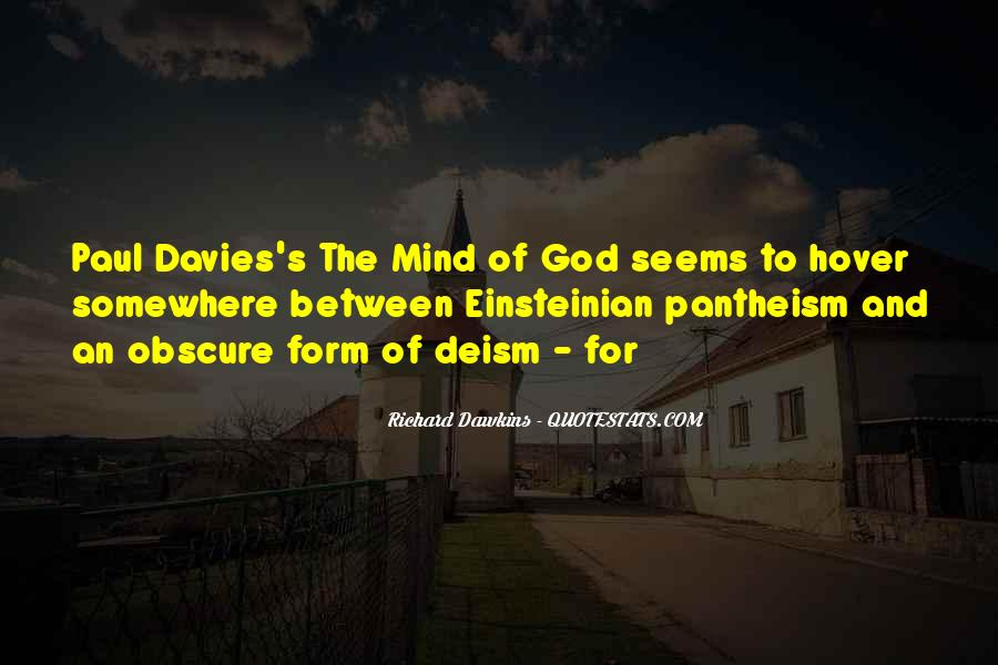 Quotes About Dawkins God #1032367