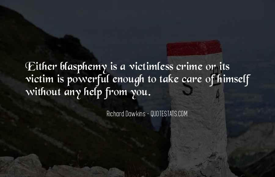 Quotes About Dawkins God #1043406