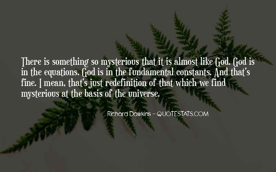 Quotes About Dawkins God #1069310