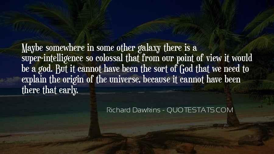 Quotes About Dawkins God #1186742