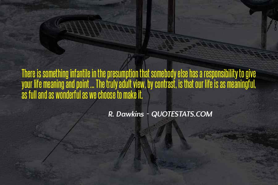 Quotes About Dawkins God #1208611