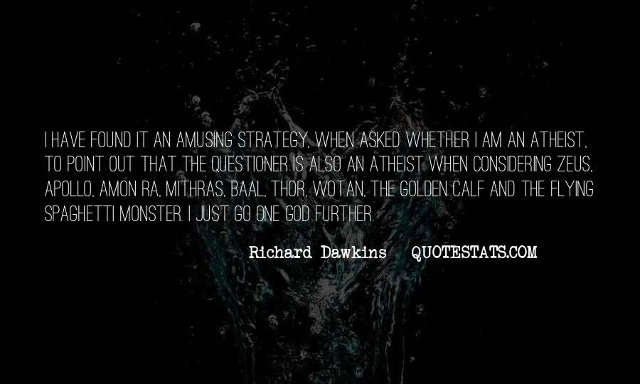 Quotes About Dawkins God #1300292