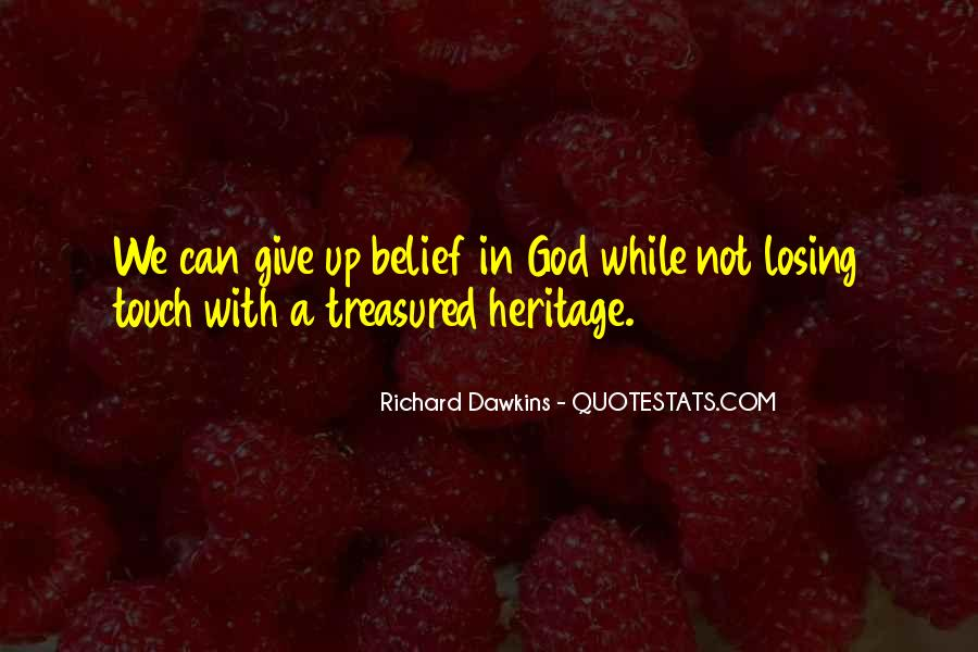 Quotes About Dawkins God #1323223