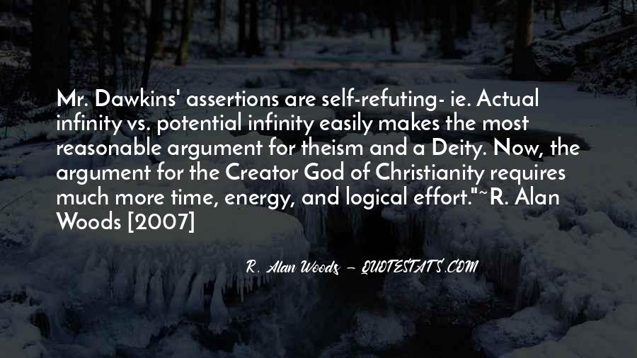 Quotes About Dawkins God #1395208