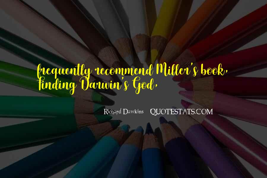 Quotes About Dawkins God #1419469