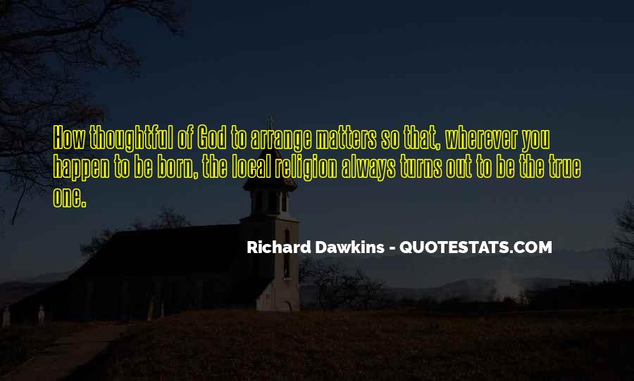 Quotes About Dawkins God #1464159