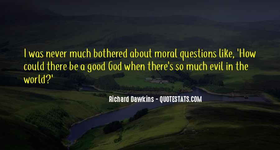 Quotes About Dawkins God #1549355