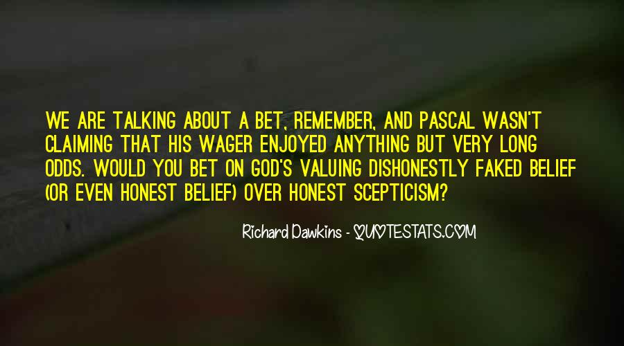 Quotes About Dawkins God #1650031