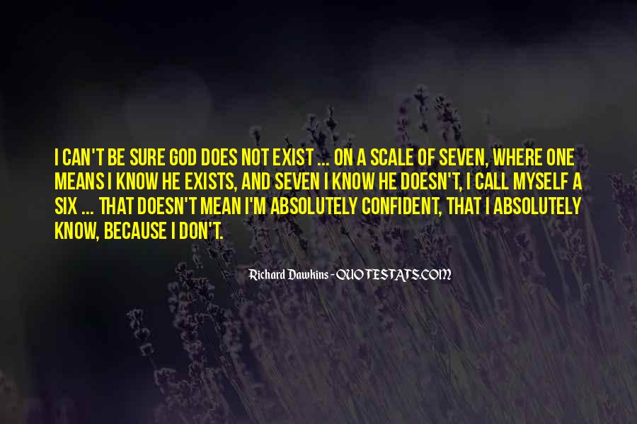 Quotes About Dawkins God #1680351