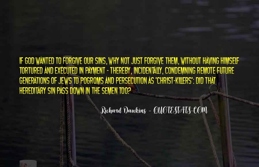 Quotes About Dawkins God #1696671
