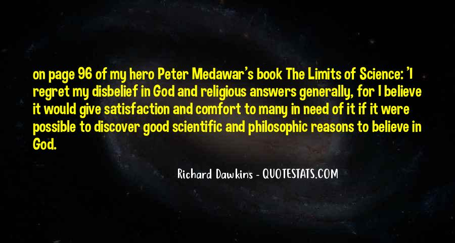 Quotes About Dawkins God #1696811