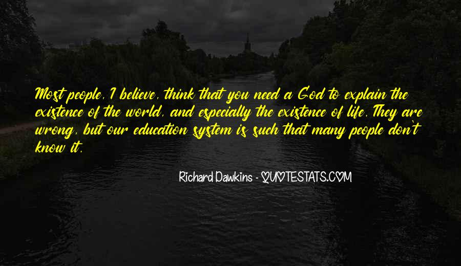 Quotes About Dawkins God #216779