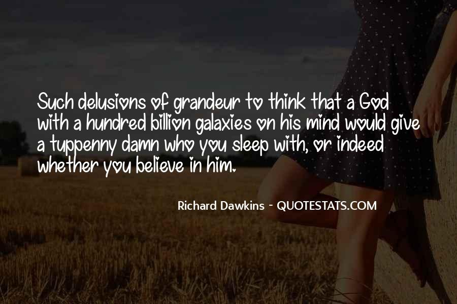Quotes About Dawkins God #299426