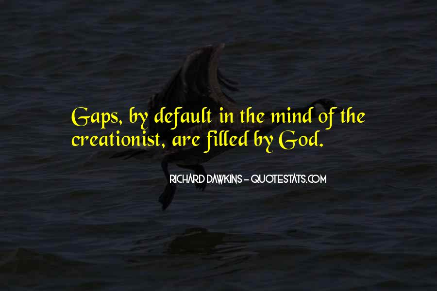 Quotes About Dawkins God #340551