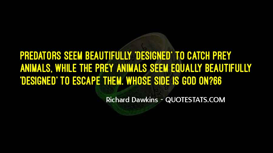 Quotes About Dawkins God #376617