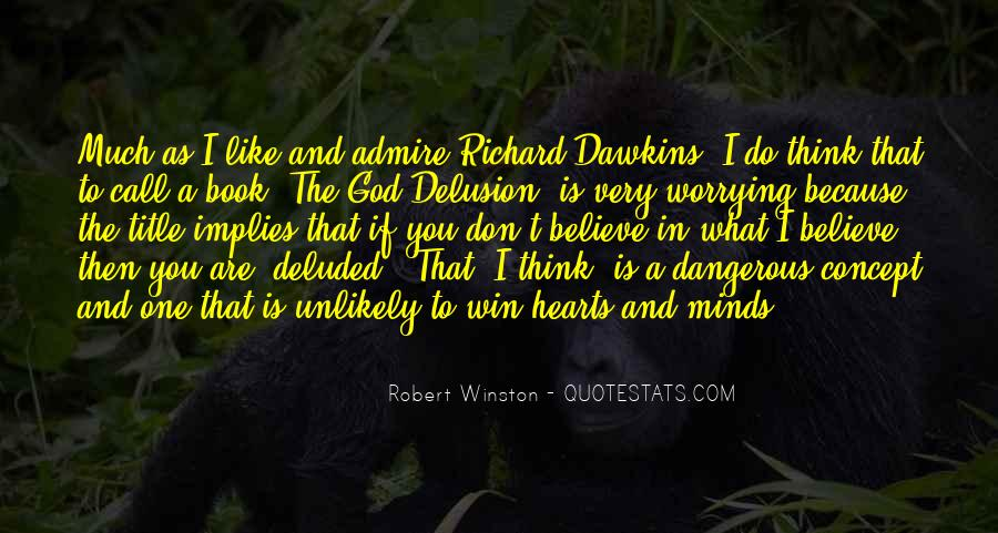 Quotes About Dawkins God #502463