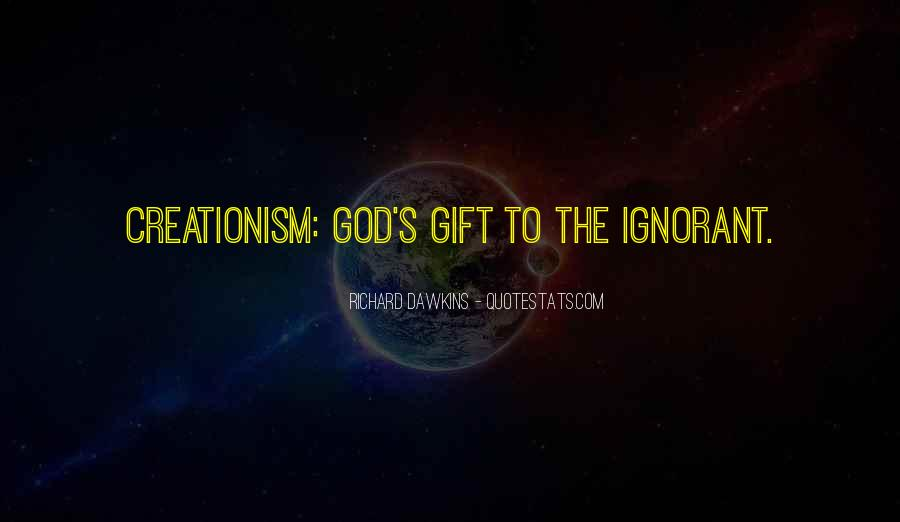 Quotes About Dawkins God #552317