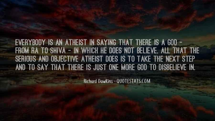 Quotes About Dawkins God #603744