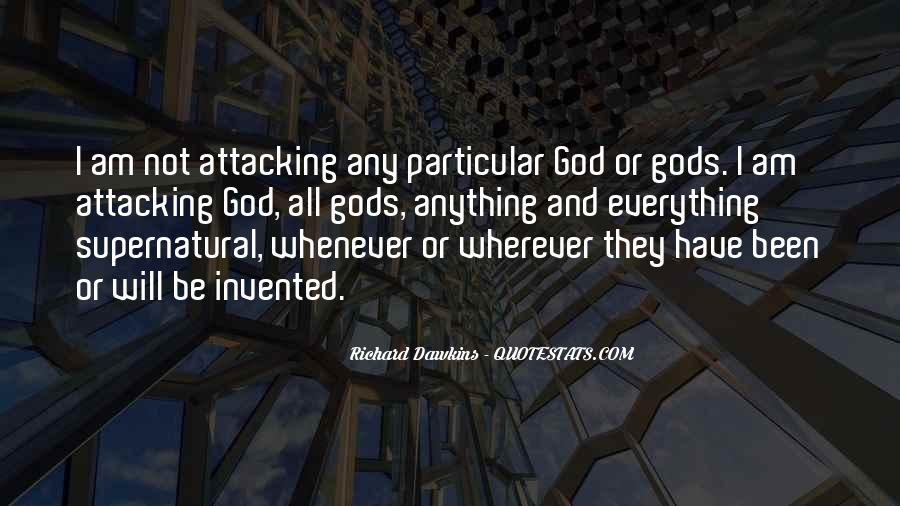 Quotes About Dawkins God #65502