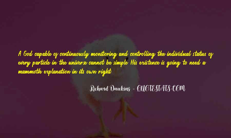 Quotes About Dawkins God #660031