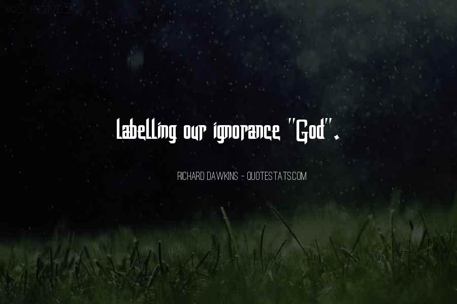Quotes About Dawkins God #758454