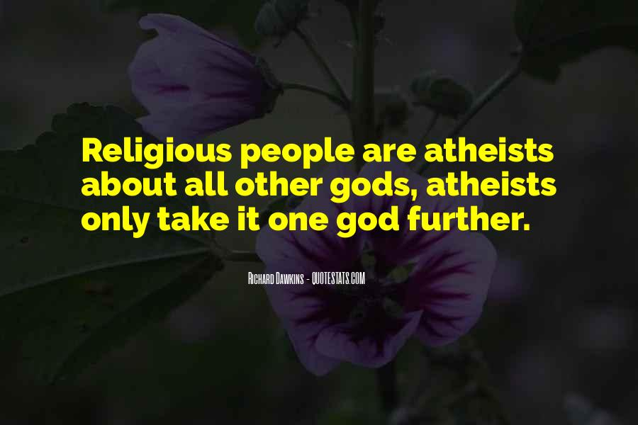 Quotes About Dawkins God #944049