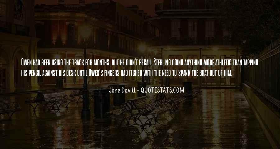 Quotes About Davitt #394702