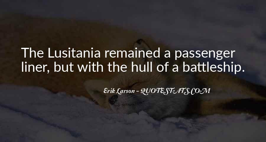 Lusitania Quotes #1455863