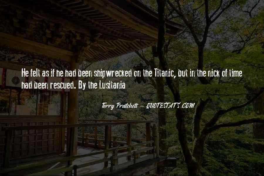 Lusitania Quotes #1543669