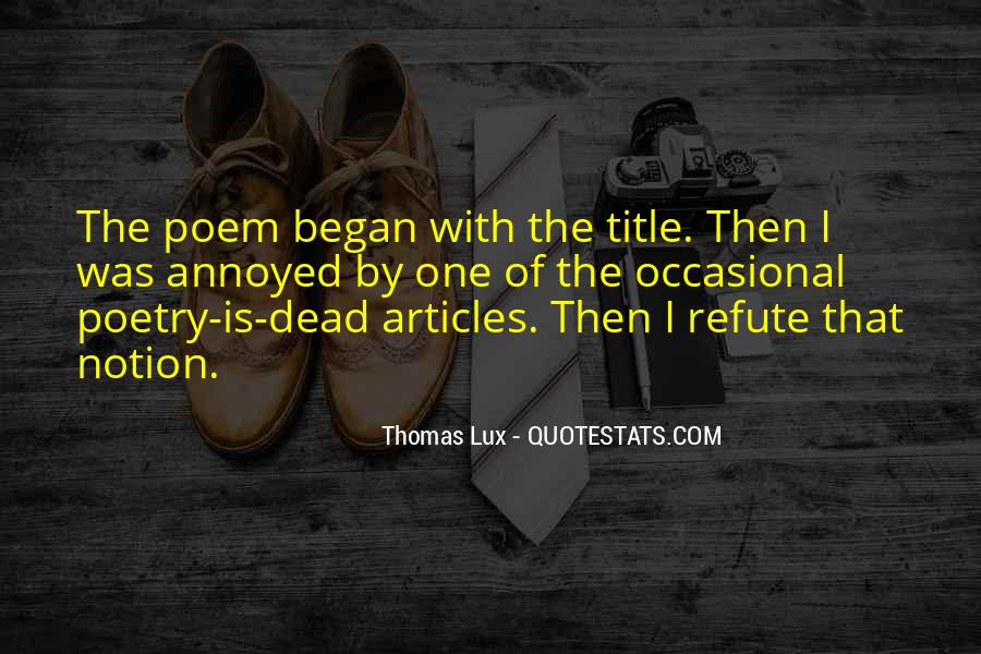 Lux Quotes #1357500