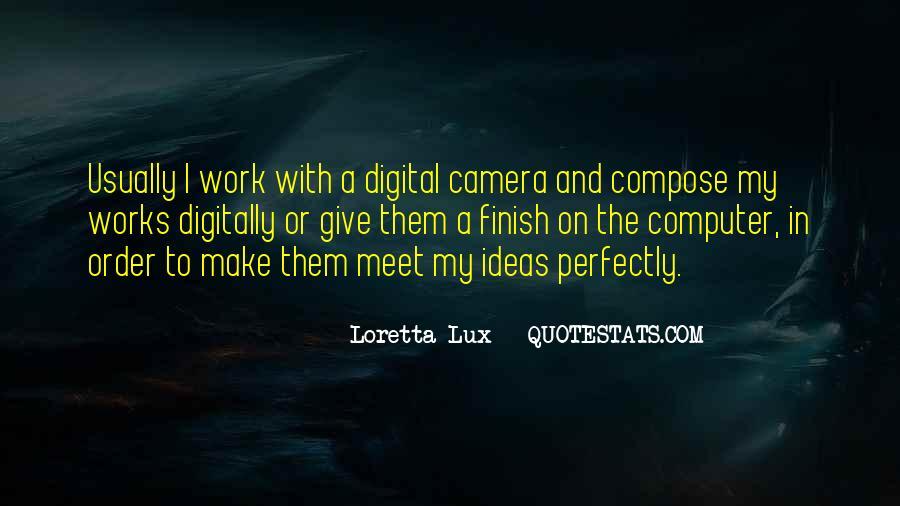 Lux Quotes #1365700