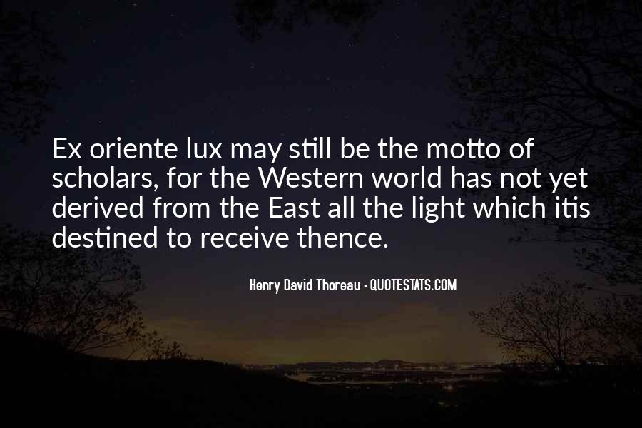 Lux Quotes #1701959