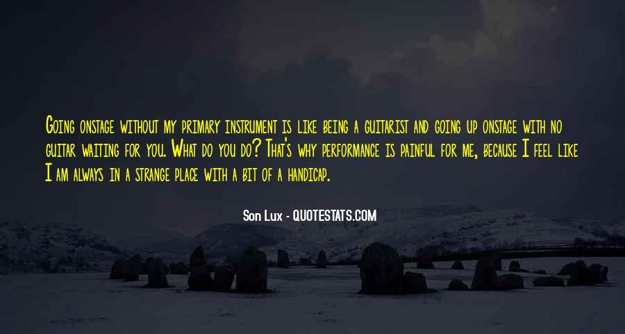 Lux Quotes #700376
