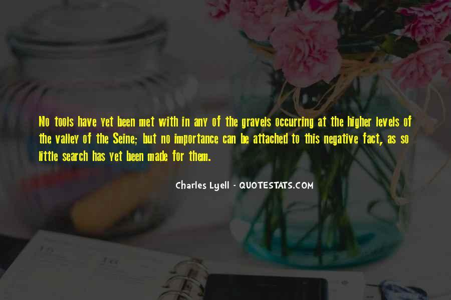 Lyell Quotes #1335800